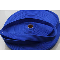 Polyester Brushed Soft Webbing 20mm 10mts Ribbed