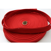 Polyester Brushed Soft Webbing Ribbed 25mm x 10m