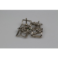 Hobble Buckle 25mm x 6 steel/nickel plated