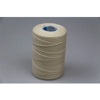 MOX waxed polyester sewing thread White .6mm 1000m