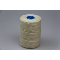 MOX waxed polyester sewing thread White 1.4mm 400m spool