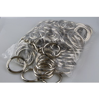 BULK O Ring  100 x welded steel 50mm x 8mm
