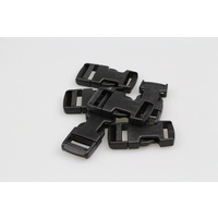 Side release buckle 6 sets of clips 19mm  x 12 pieces