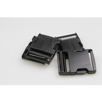 Side release buckle 10 sets of clips 50mm  x 20 pieces