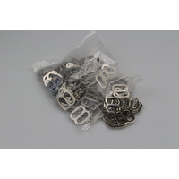 BULK Triglides 19mm x 100 steel/nickel plated