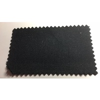 Black Cotton Drill 150cm wide cut length 310gsm