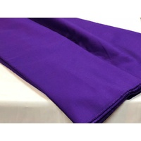 Purple Cotton Drill 150cm wide cut length 310gsm