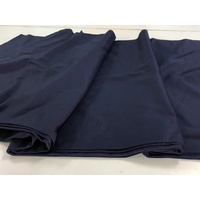 Navy Cotton Drill 150cm wide cut length 310gsm
