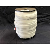 Elastic Webbing Woven 20mm x 100m [colour: White]