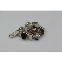 Zip Sliders No. 10 Moulded Single Pull 100 pcs