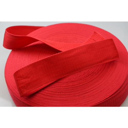Polypropylene Webbing 38mm x 50m [Colour: red] [ID CODE: W5012]